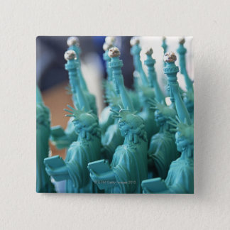 Statue of Liberty Doll Pinback Button