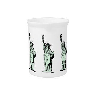 Statue of Liberty Drink Pitcher