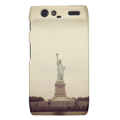 Statue of Liberty Droid RAZR Cover