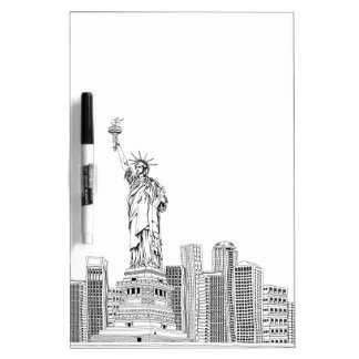 Statue of Liberty Dry Erase Board