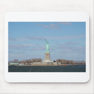 Statue Of Liberty Ellis Island Mouse Pad