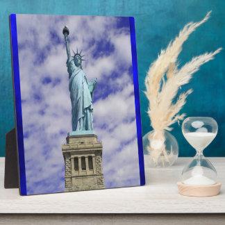 Statue of Liberty, Ellis Island, New York Plaque