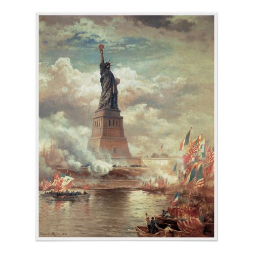 Statue Of Liberty Enlightening the World Posters