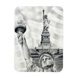 Statue of Liberty Flexible Magnet