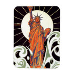 Statue of Liberty Flexible Magnets