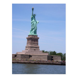 Statue of Liberty - Full View Postcard