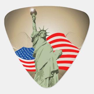 Statue of Liberty Guitar Pick