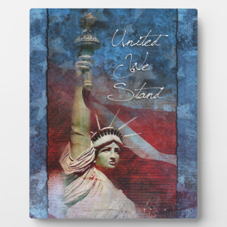 Statue of Liberty Home Decor Photo Plaque