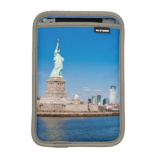 Statue of Liberty, Hudson River and Manhattan iPad Mini Sleeves