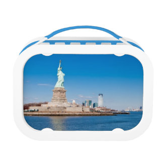 Statue of Liberty, Hudson River and Manhattan Lunch Box