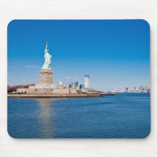 Statue of Liberty, Hudson River and Manhattan Mouse Pad