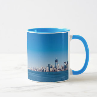 Statue of Liberty, Hudson River and Manhattan Mug