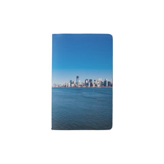 Statue of Liberty, Hudson River and Manhattan Pocket Moleskine Notebook Cover With Notebook