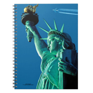 Statue of Liberty image for Photo-Notebook Spiral Notebook
