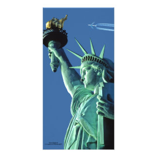 Statue of Liberty image for photocard Card