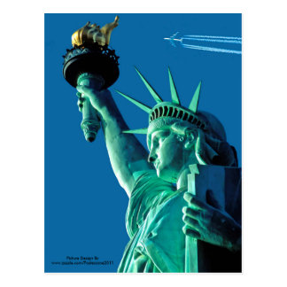 Statue of Liberty image for postcard