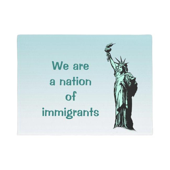Statue of Liberty Immigrants Door Mat