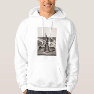 Statue Of Liberty In New York Harbor Hoodie