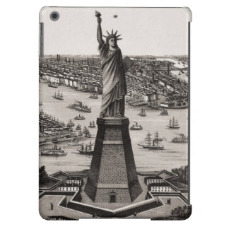 Statue Of Liberty In New York Harbor iPad Air Cover