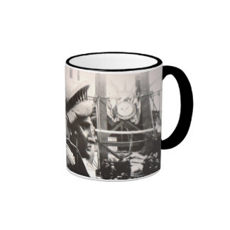 Statue of Liberty in The Making Ringer Mug