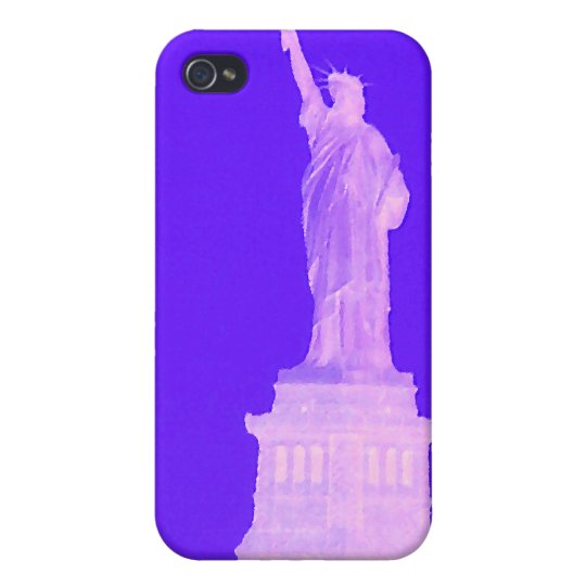 Statue of Liberty Independence Day Patriotic USA Cover For iPhone 4
