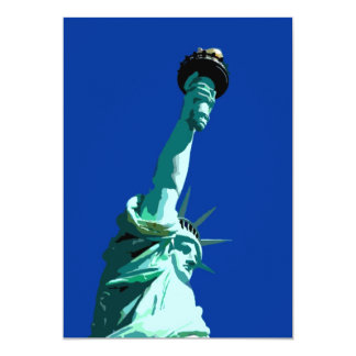 """Statue of Liberty Invitation 5"""" X 7"""" Invitation Card"""