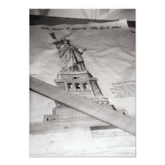 Statue of Liberty invitations