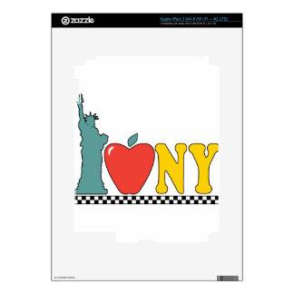 statue of liberty iPad 3 decal