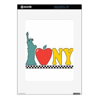 statue of liberty iPad decal