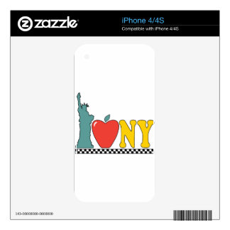 statue of liberty iPhone 4 skins