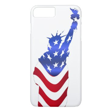 USA Themed Statue of Liberty iPhone 8 Plus/7 Plus Case