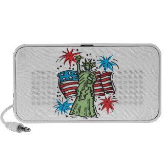 Statue Of Liberty iPod Speaker