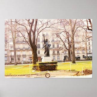 Statue of Liberty - Jardin du Luxembourg, Paris Poster