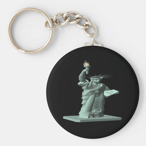 Statue Of Liberty Key Chains