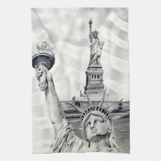 Statue of Liberty Kitchen Towel