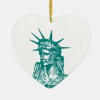 Statue of Liberty/Lady Liberty Christmas Tree Ornaments