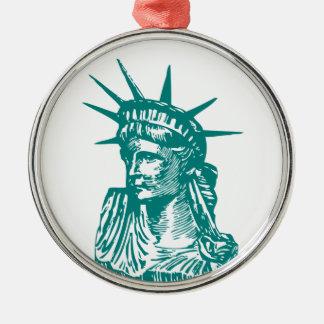 Statue of Liberty/Lady Liberty Christmas Tree Ornament
