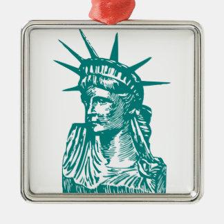 Statue of Liberty/Lady Liberty Christmas Ornament