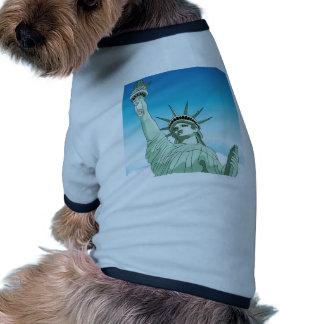 Statue of Liberty Landmark Dog Shirt