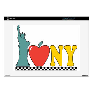 statue of liberty laptop decal