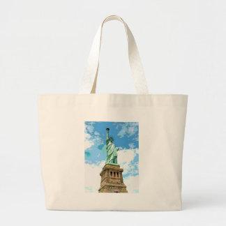 Statue of Liberty Large Tote Bag