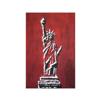 Statue of Liberty - Libertas Canvas Print