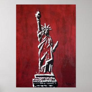 Statue of Liberty - Libertas Poster