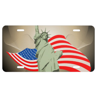Statue of Liberty License Plate