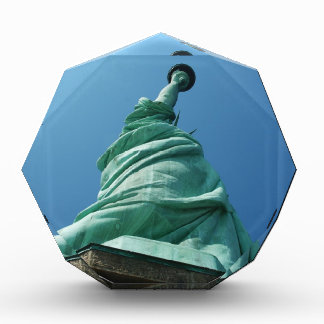 Statue of Liberty looking upwards Awards
