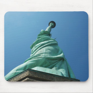 Statue of Liberty looking upwards Mouse Pad