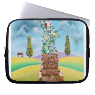 Statue of Liberty made of sheep Gordon Bruce art Laptop Sleeve