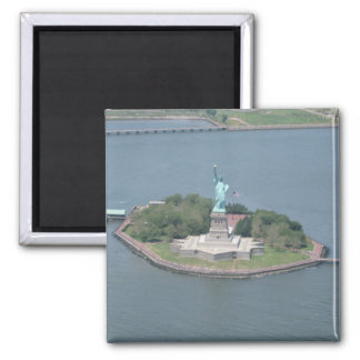 Statue of Liberty Maganet 2 Inch Square Magnet