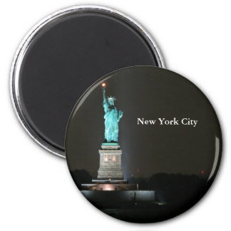 Statue of Liberty 2 Inch Round Magnet