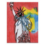 Statue of liberty  Marcoart Posters